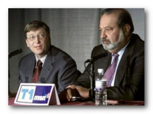 самые богатые люди в мире: Билл Гейтс и Карлос Слиму Элу