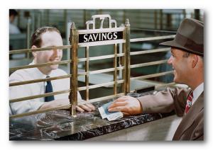 Dengi na schete v banke