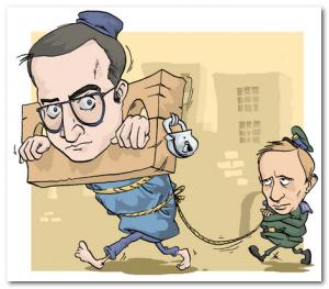 Putin i hodorkovski
