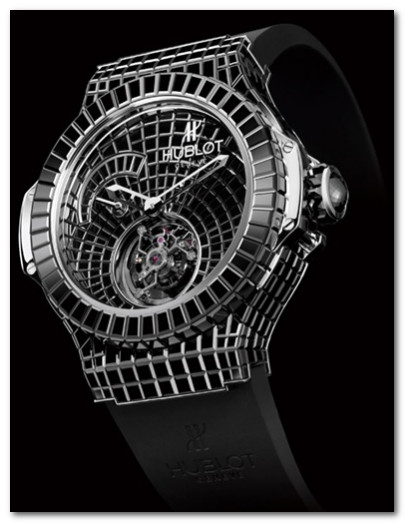 часы Hublot Black Caviar Bang