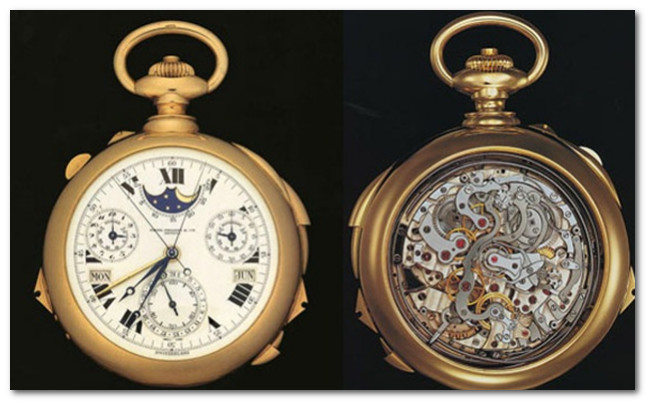 часы Patek Phillipe's Supercomplication