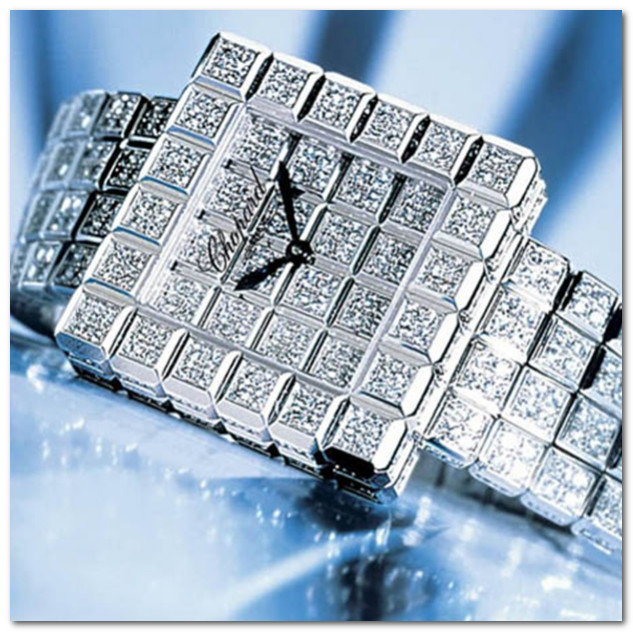 часы The Chopard Super Ice Cube