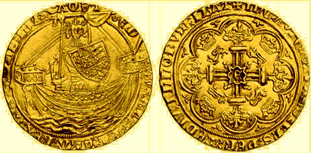монета эдвард третий