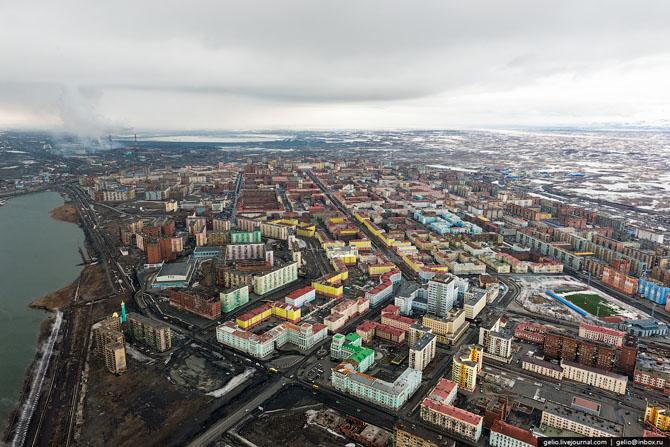 город дудинка