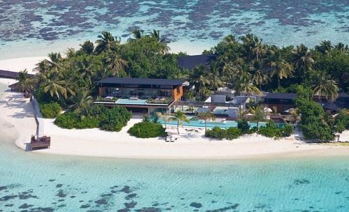 роскошный частный остров