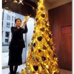 золотая елка