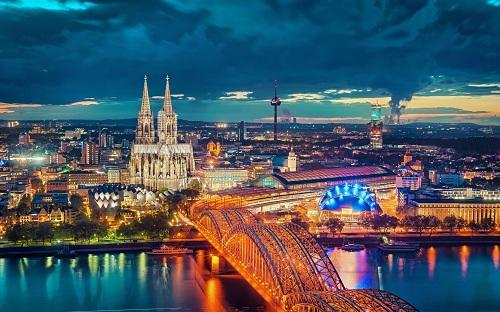 германия ночью