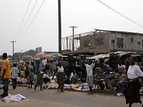 Либерия - бедная страна