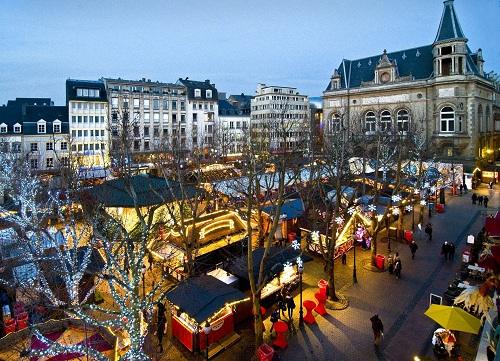 новогодний люксембург