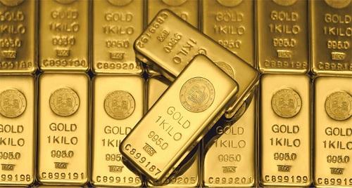 слитки золота