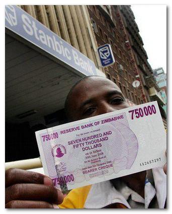 750000 долларов Зимбабве