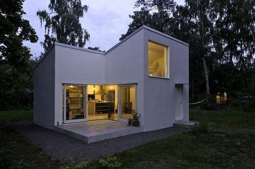современный миниатюрный дом