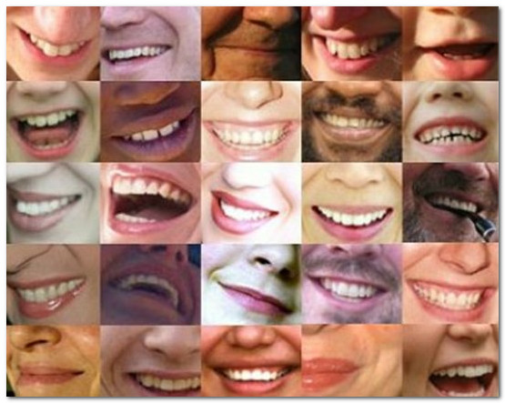 различные улыбки