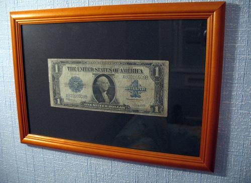 первый заработанный доллар