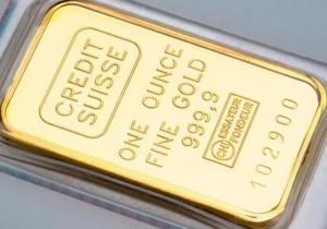 штамп на слитке золота