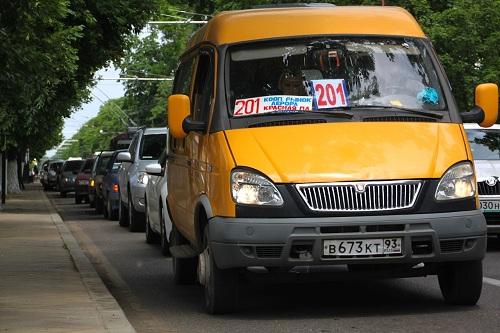 маршрутное такси газель