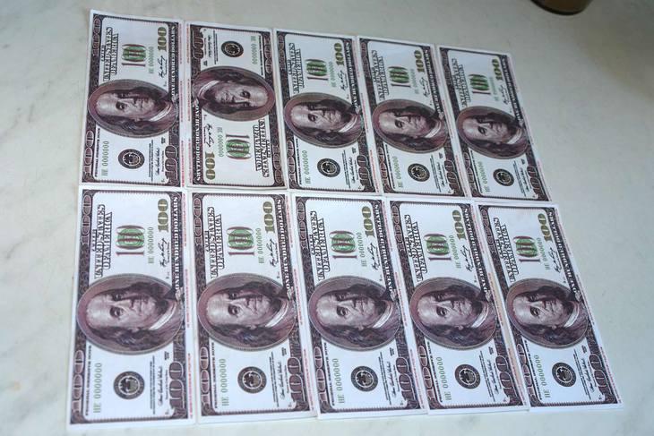 деньги для торта