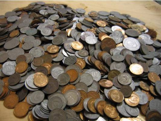сколько стоит монета полушка