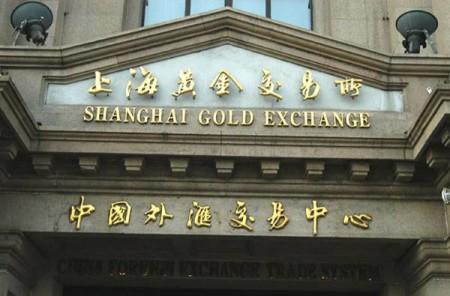 золотая биржа китая