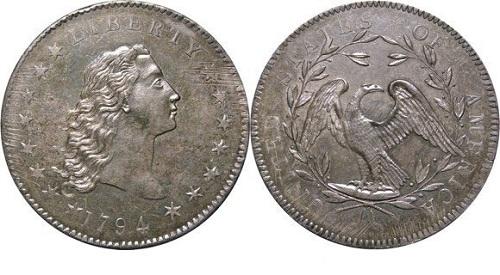 первый доллар сша