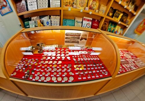 магазин юбилейных монеты россии