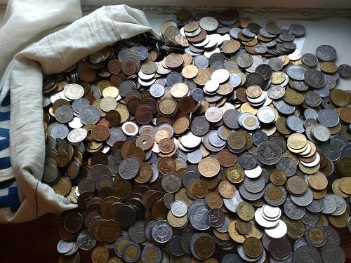 мешок монет