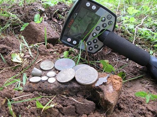 клад найденый металлоискателем