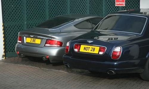 номера на автомобилях