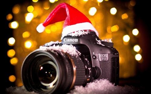 фотоаппарат новый год