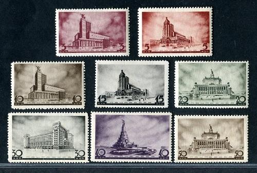 марки архитектура новой москвы