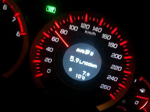 скорость и расход топлива