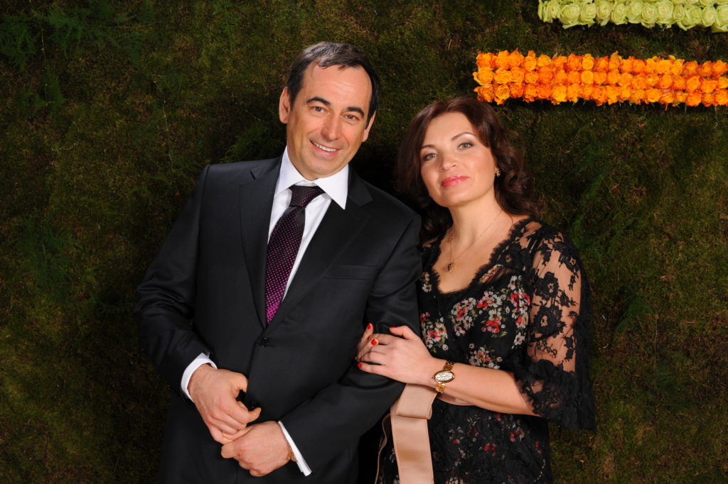 Роман Авдеев и его жена