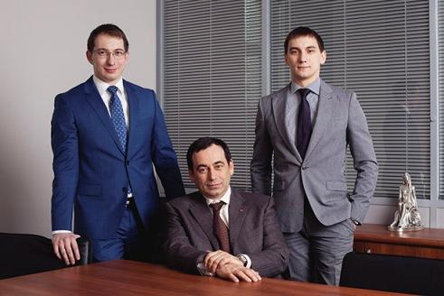 Роман Авдеев и его дети