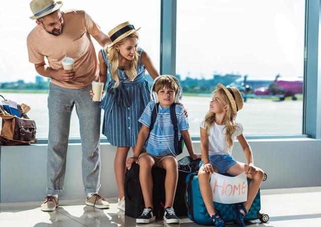 эмиграция  с ребенком
