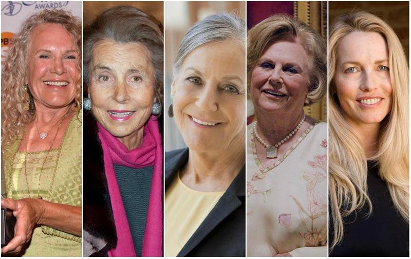 состоятельные женщины 2017