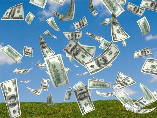 доллары США летят