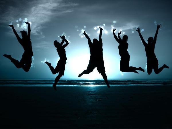 счастливые люди