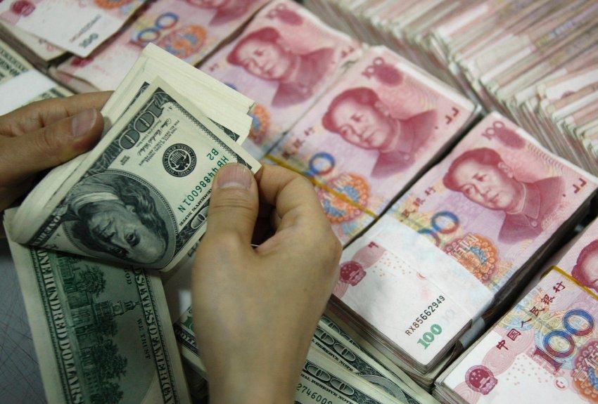 валюта сша и китая