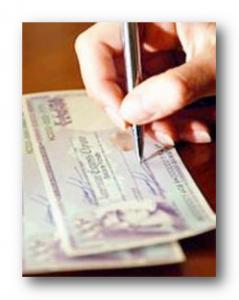 выписанный чек