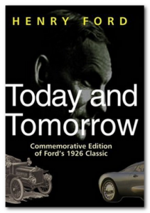 книга Генри Форда Сегодня и завтра