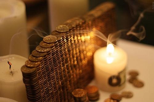 обряд с монетами