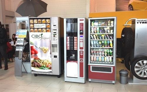 автоматы продажи еды