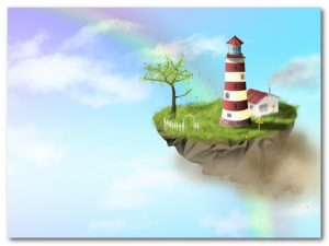 остров в небе