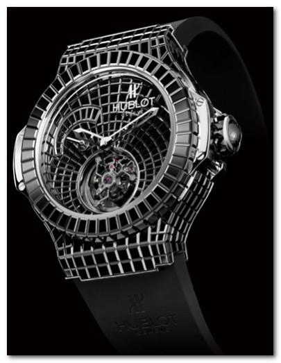 часы Hublot Black Caviar Bang