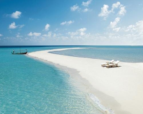 чистый пляж мальдив