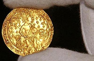 монета двойной леопард