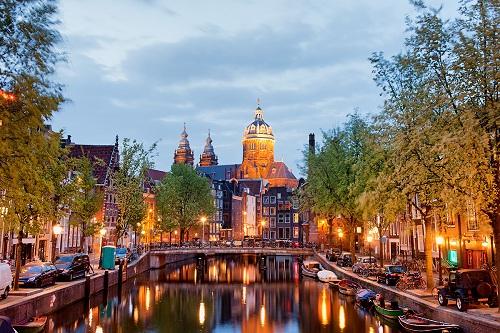 город голландии