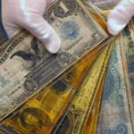 Деньги найденные на Титанике