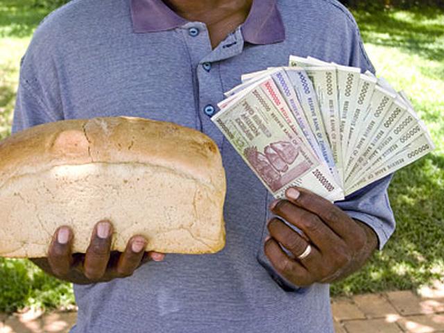 шнфляция в зимбабве