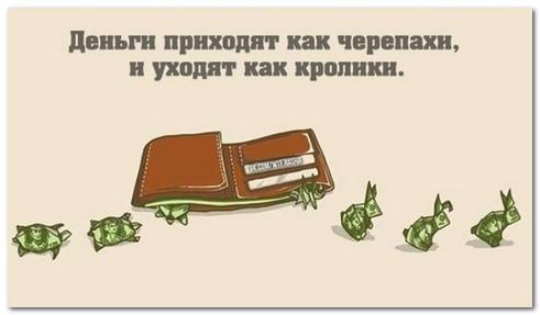 приход и расход денег